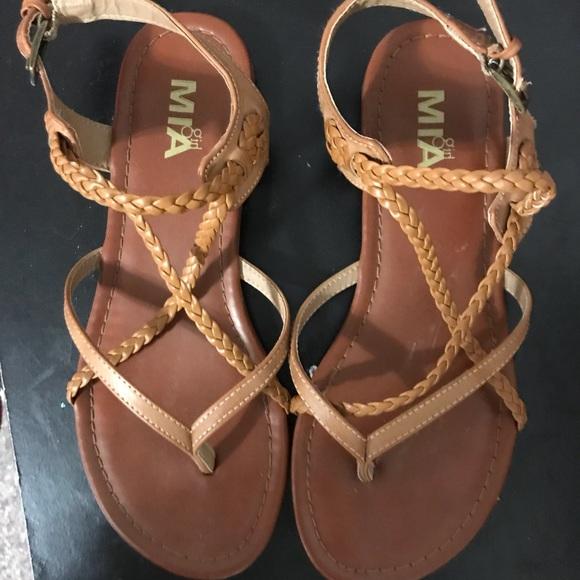 DSW strappy sandals